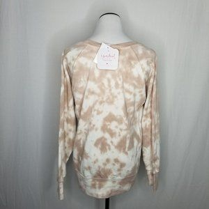 Isabel Maternity by Ingrid & Isabel Sweaters - Maternity Tie-Dye Cotton Pullover